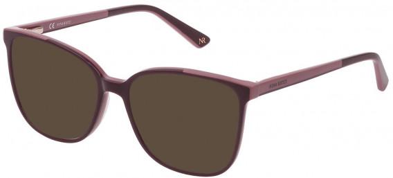 Nina Ricci VNR192 sunglasses in Shiny Full Plum