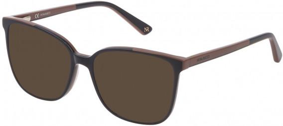 Nina Ricci VNR192 sunglasses in Shiny Full Petroleum