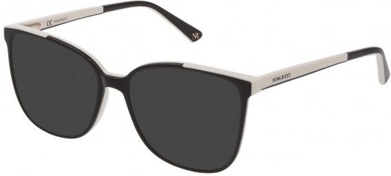 Nina Ricci VNR192 sunglasses in Shiny Black