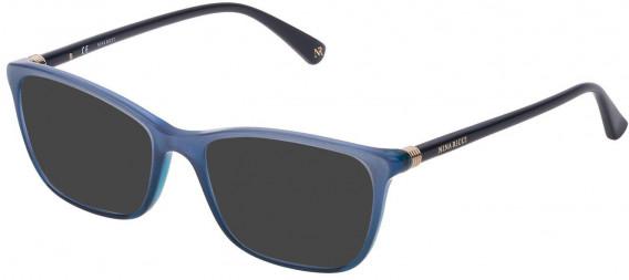 Nina Ricci VNR190 sunglasses in Azure/Glittery