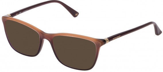 Nina Ricci VNR190 sunglasses in Shiny Plum/Glittery