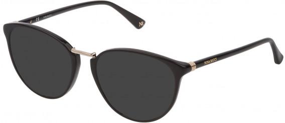 Nina Ricci VNR189 sunglasses in Shiny Black