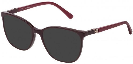 Nina Ricci VNR182 sunglasses in Shiny Plum