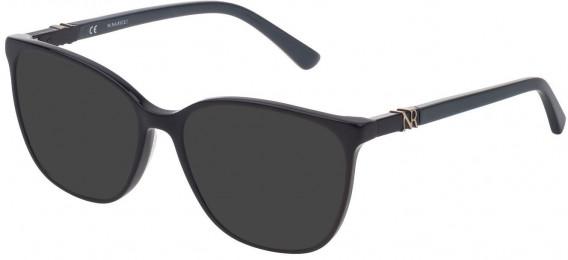 Nina Ricci VNR182 sunglasses in Shiny Full Petroleum