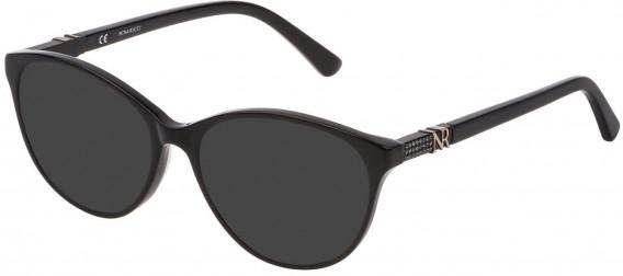 Nina Ricci VNR181S sunglasses in Shiny Black