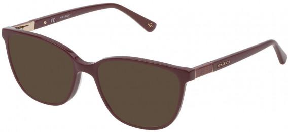 Nina Ricci VNR144 sunglasses in Shiny Full Plum