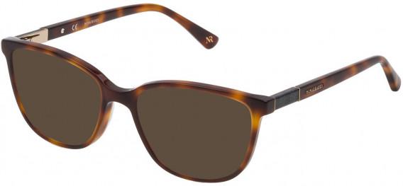 Nina Ricci VNR144 sunglasses in Shiny Dark Havana