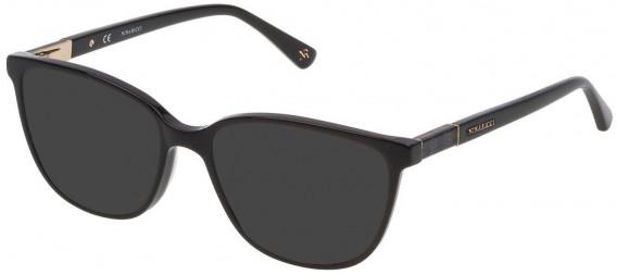 Nina Ricci VNR144 sunglasses in Shiny Black