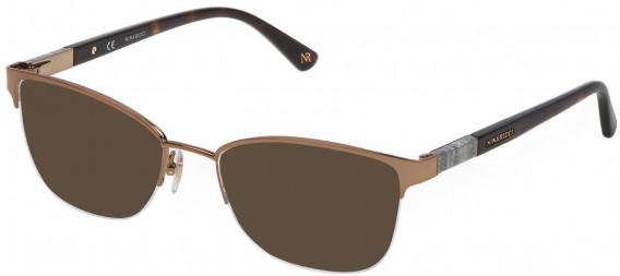 Nina Ricci VNR143 sunglasses in Shiny Bronze
