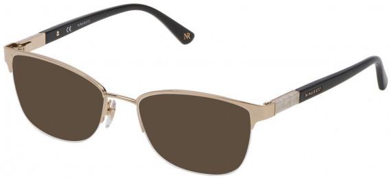 Nina Ricci VNR143 sunglasses in Shiny Rose Gold