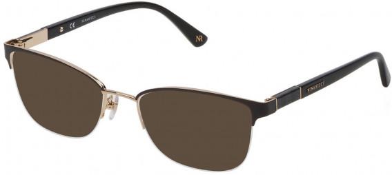 Nina Ricci VNR143 sunglasses in Shiny Light Rose Gold