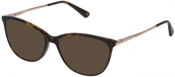 Nina Ricci VNR139 sunglasses in Shiny Dark Havana
