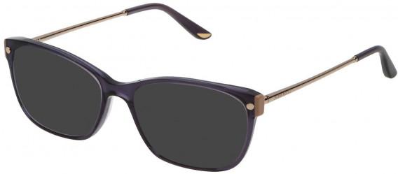 Nina Ricci VNR133 sunglasses in Shiny Transparent Dark Violet
