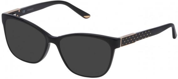 Nina Ricci VNR129 sunglasses in Shiny Black
