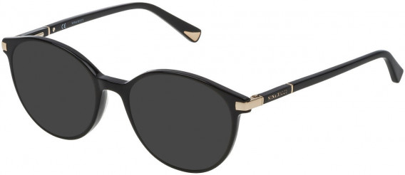 Nina Ricci VNR089 sunglasses in Shiny Black