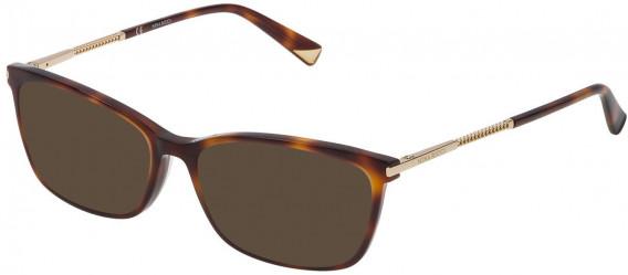 Nina Ricci VNR083 sunglasses in Shiny Dark Havana