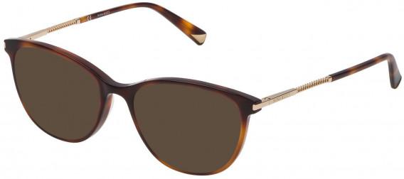 Nina Ricci VNR082 sunglasses in Shiny Dark Havana