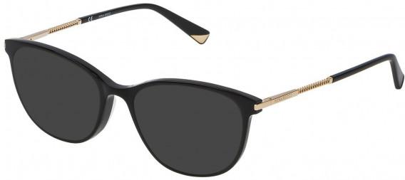 Nina Ricci VNR082 sunglasses in Shiny Black