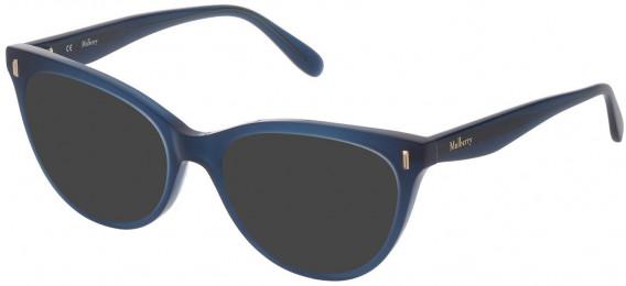 Mulberry VML051 sunglasses in Shiny Blue/Petroleum