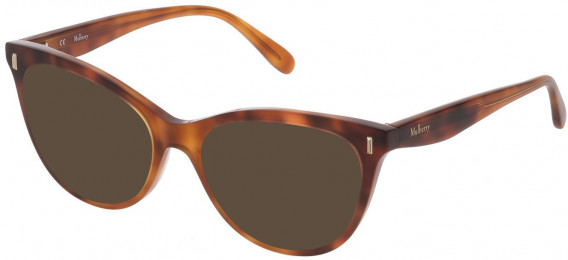 Mulberry VML051 sunglasses in Shiny Honey Havana Gradient Light Havana