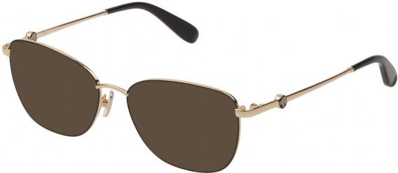 Mulberry VML050 sunglasses in Shiny Rose Gold/Black
