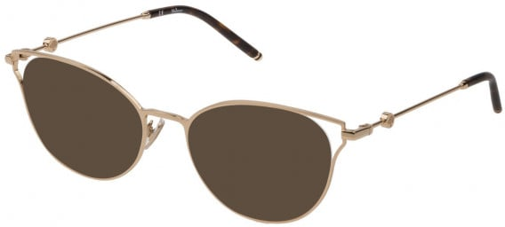 Mulberry VML047 sunglasses in Shiny Rose Gold