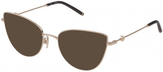 Mulberry VML046 sunglasses in Shiny Rose Gold