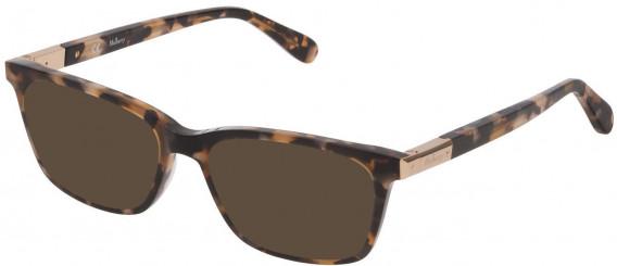 Mulberry VML043 sunglasses in Grey/Green/Yellow Kaki Havana