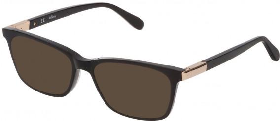 Mulberry VML043 sunglasses in Black Super Black