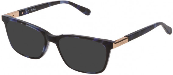 Mulberry VML043 sunglasses in Shiny Blu Havana