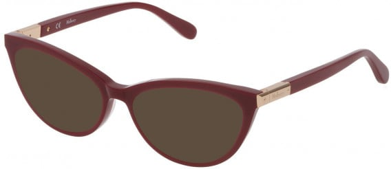 Mulberry VML042 sunglasses in Shiny Full Bordeaux