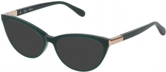 Mulberry VML042 sunglasses in Shiny Dark Green