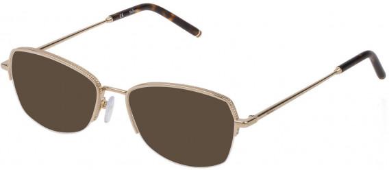 Mulberry VML030 sunglasses in Shiny Light Gold