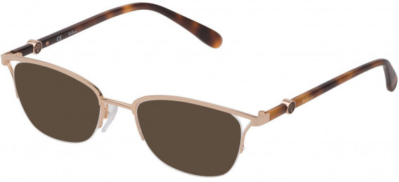 Mulberry VML029 sunglasses in Shiny Rose Gold