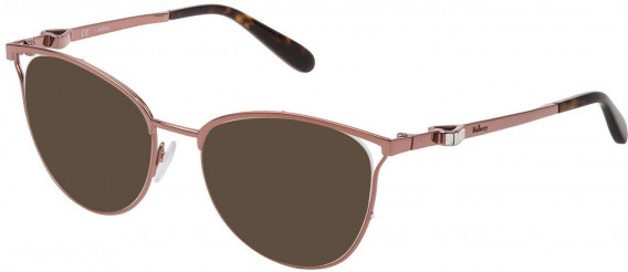 Mulberry VML028S sunglasses in Shiny Peach Pink