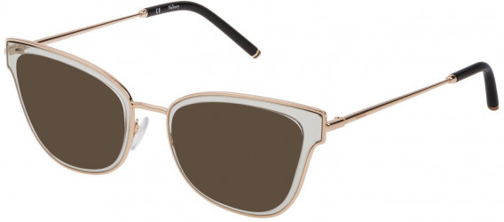 Mulberry VML025 sunglasses in Shiny Transparent Grey