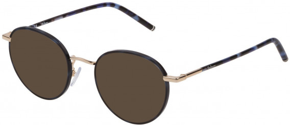 Mulberry VML024 sunglasses in Shiny Blue Havana