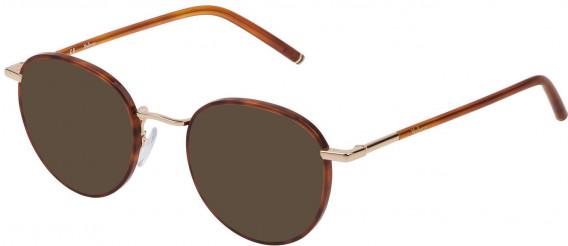 Mulberry VML024 sunglasses in Shiny Light Havana