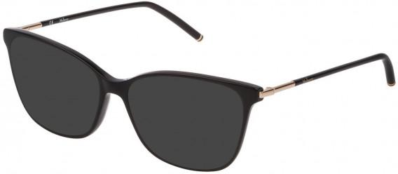 Mulberry VML023 sunglasses in Black Super Black