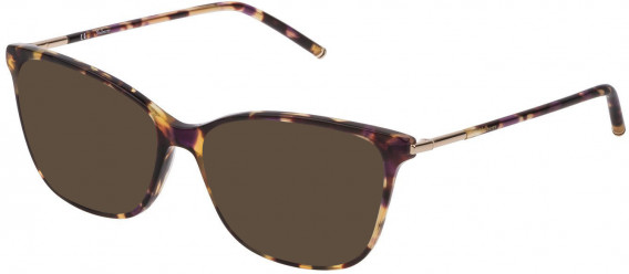 Mulberry VML023 sunglasses in Shiny Violet/Havana