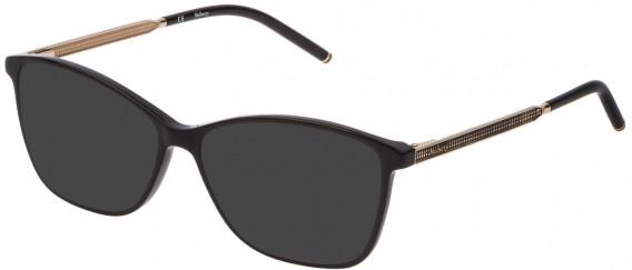 Mulberry VML020 sunglasses in Black Super Black