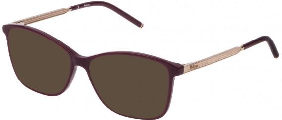 Mulberry VML020 sunglasses in Shiny Full Bordeaux