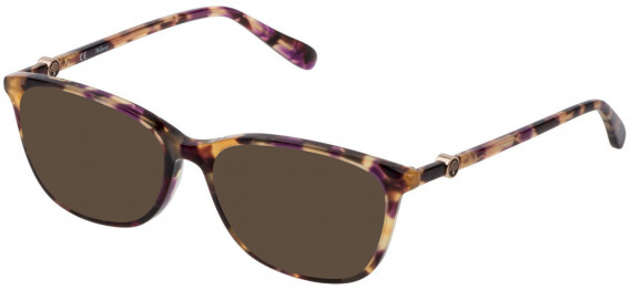 Mulberry VML018 sunglasses in Shiny Violet/Havana
