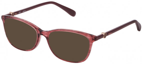 Mulberry VML018 sunglasses in Shiny Transparent Pink