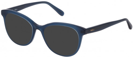 Mulberry VML014 sunglasses in Shiny Blue/Petroleum