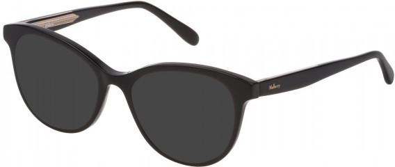 Mulberry VML014 sunglasses in Black Super Black