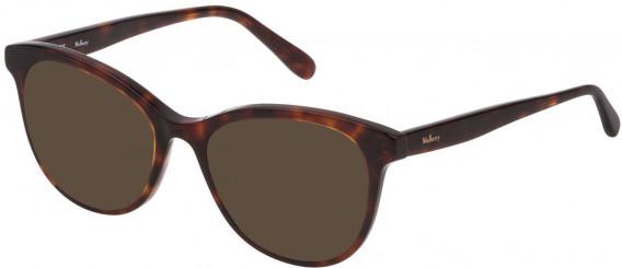 Mulberry VML014 sunglasses in Shiny Classic Havana