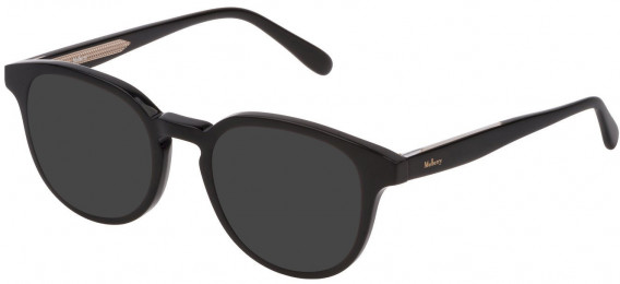 Mulberry VML013 sunglasses in Black Super Black