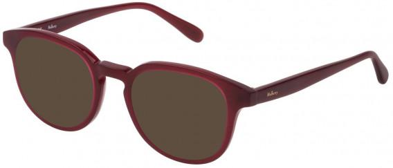 Mulberry VML013 sunglasses in Shiny Opal Bordeaux