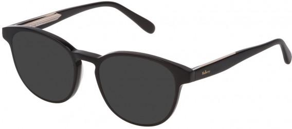 Mulberry VML012 sunglasses in Black Super Black